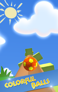Rolling Ball In Sky - náhled