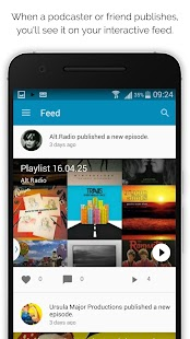 Podomatic Podcast & Mix Player- screenshot thumbnail