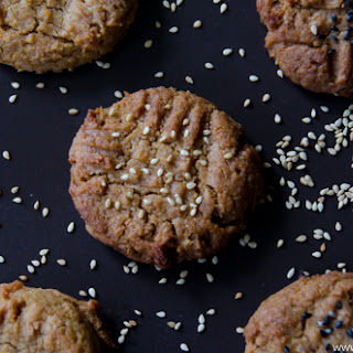 Soft and Chewy Peanut Butter Miso Cookies.