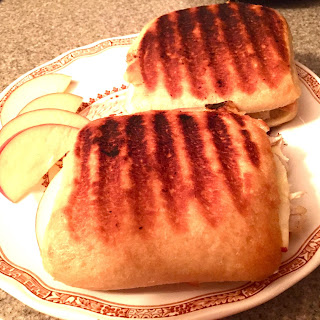 Turkey, Brie and Apple Panini
