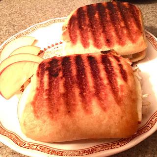Turkey, Brie and Apple Panini