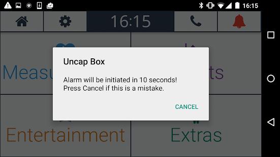 UNCAP Box - náhled