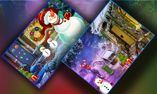 Christmas Snowman Best Escape Rescue Game - 281 - náhled