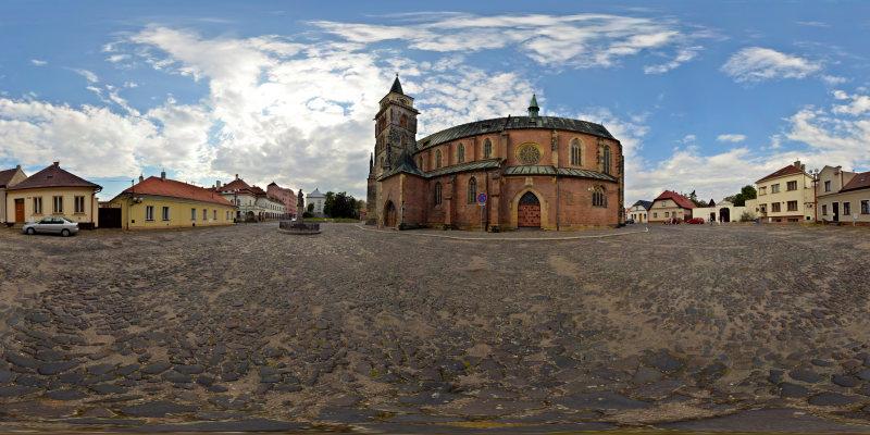 Photo: Kostol svätého Jiljí v Nymburku [HDR]