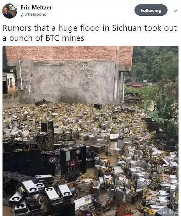 Sichuan flooding causes issues for Miners and maybe Bitcoin