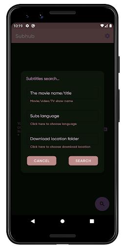 Subtitles downloader - Subhub screenshot 1