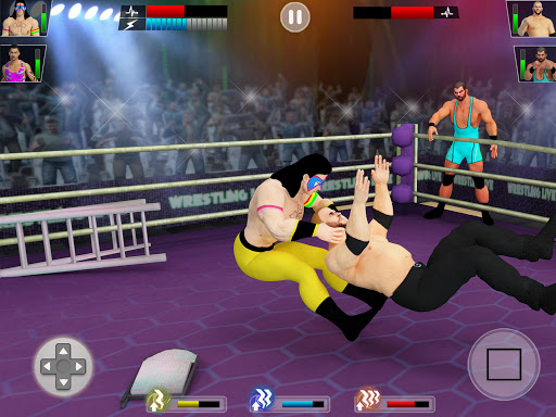 Tag team wrestling 2020: Cage death fighting Stars screenshots 11