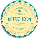 RETRO ICONS Pack Vintage Theme icon