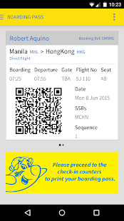 Cebu Pacific- screenshot thumbnail