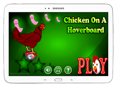 Chicken On A Hoverboard screenshot 8