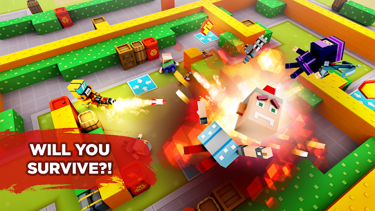 Pixel Arena Online Multiplayer Blocky Shooter 1.20.0 MOD (Unlimited Coins/Crystals) Apk 3