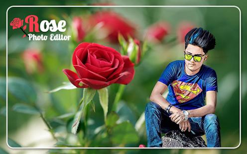 rose photo editor