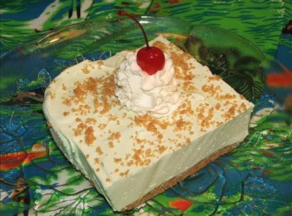 Lime Chiffon Cheesecake Dessert