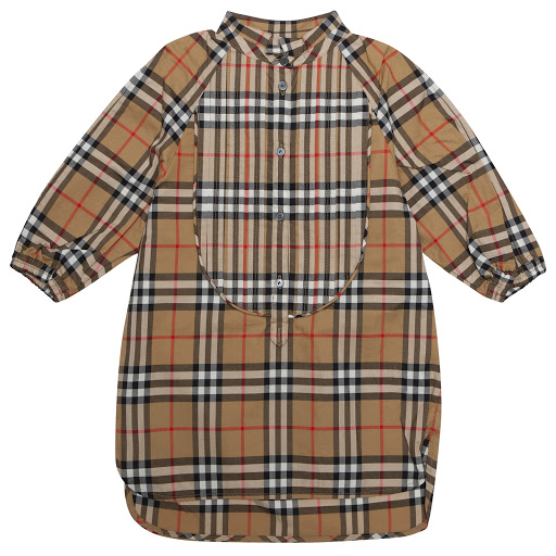 Primary image of Burberry Check Shirt Dress