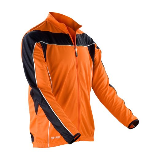 Men's Bikewear Full Zip Long Sleeve Performance Top