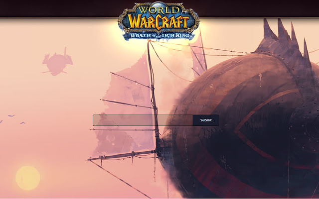 NEW TAB Wrath of the Lich King