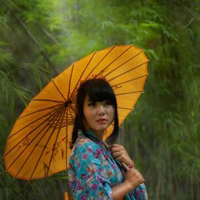 Kiky Yuki by Khomzin Arief - People Portraits of Women ( fine art, people )