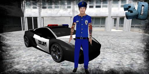 警察 車 パーキング : シミュレータ