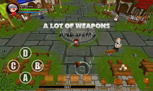 Anime RPG v1.5 (Full) APK (Mod God Mode+Unlimited Mana)
