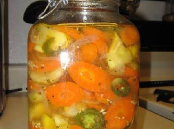 Mexican Style Hot Pickled Carrots