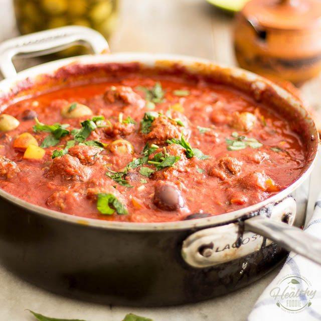 Italian Sausage and Olive Spaghetti Sauce Recipe