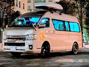 ハイエースワゴン TRH229W 令和1年式  グランドキャビン  のカスタム事例画像 yuki⛄️【ピンクおじさん】さんの2020年01月11日23:37の投稿