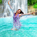 Waterfall Photo Collage HD icon