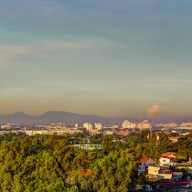 by Anton Labao - City,  Street & Park  Vistas