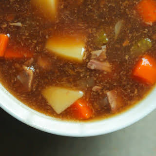 Chunky Beef Soup Recipes.