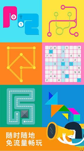 天天脑力——免费经典七巧板一笔画纠结的蛇等益智游戏大厅  screenshots 6