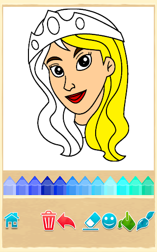 Princess Coloring Game  screenshots EasyGameCheats.pro 1