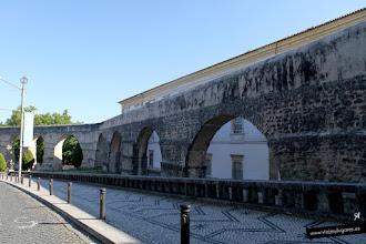 Photo: 7: Pasamos por el Aqueduto de São Sebastião, conocido popularmente como Arcos do Jardim <br>por estar en frente del Jardín Botánico de la Universidad de Coimbra.