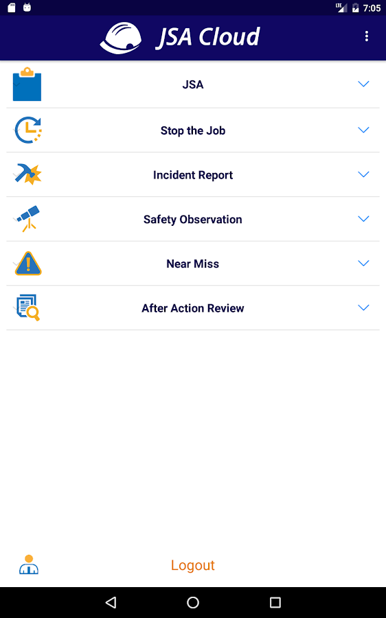 Job Safety Analysis- screenshot