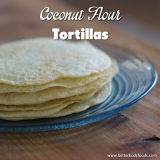 Coconut Flour Tortillas Recipe