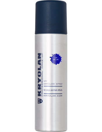 Kryolan UV hårspray, Blå