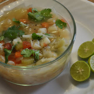 Mexican Cabbage Soup.