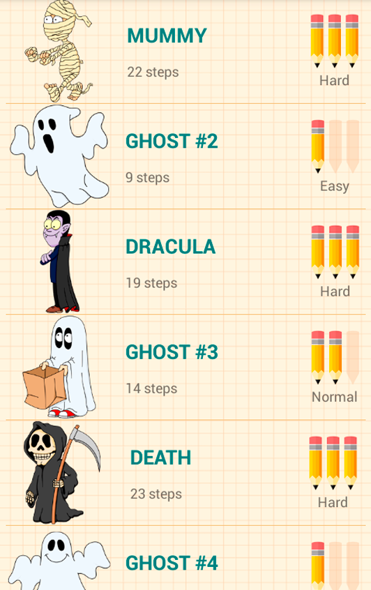 How to Draw Halloween- screenshot