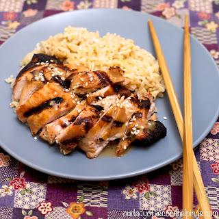Soy Free Teriyaki Chicken Marinade, gluten free
