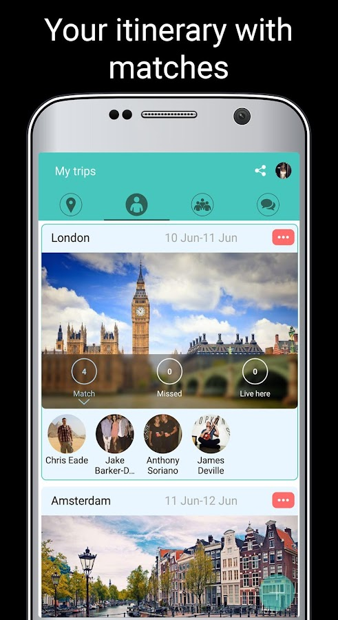 Loom: Share Travel Plans- screenshot