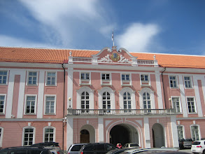 Photo: Estonian Parliament House in old town