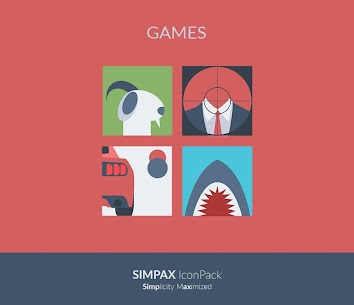 [SALE] SIMPAX ICON PACK 6.4 Unlocked MOD APK Android 1