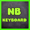 Neon Butterfly Keyboard Themes Free icon