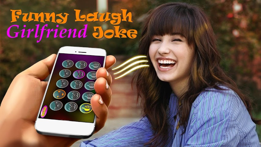 android Drôle Laugh Girlfriend Joke Screenshot 0