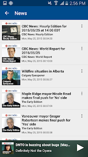 CBC Radio- screenshot thumbnail