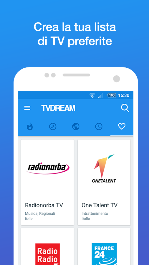 TVdream- screenshot