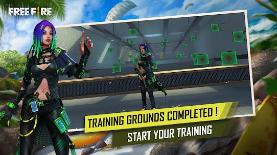 Garena Free Fire: Rampage MOD APK V1.52.0 (Shooting Range Increased, Aim Assist, No Recoil) 4