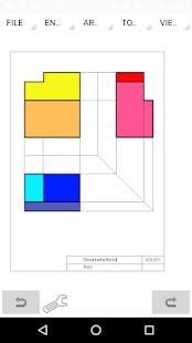 MobilCAD 2d CAD Screenshot