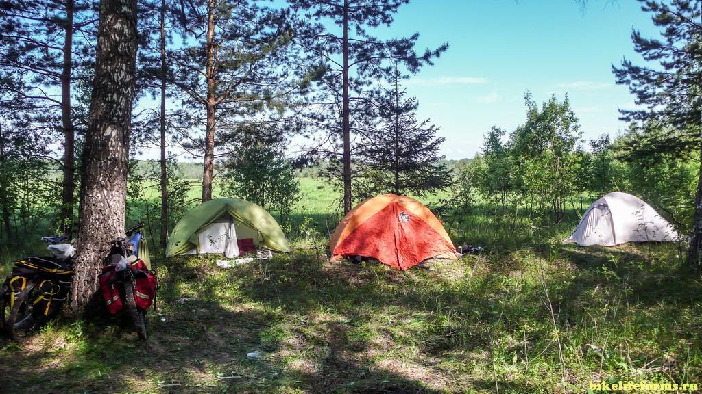 лагерь у Шостки
