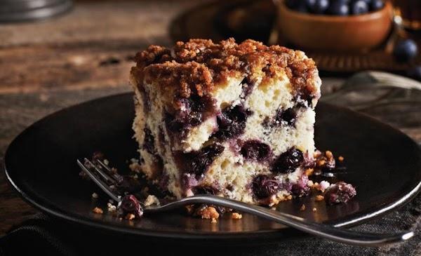 Nova Scotia Blueberry Cake Recipe