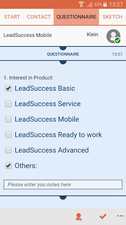 LeadSuccess- screenshot